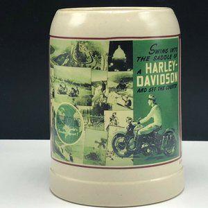 HARLEY DAVIDSON MOTORCYCLE COFFEE MUG CUP SWING US